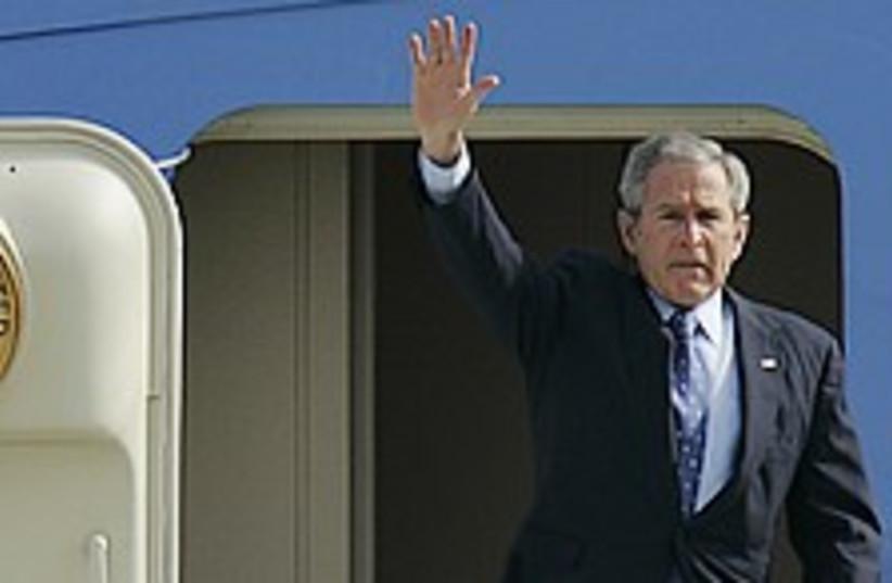 bush israel 224.88 (photo credit: AP)