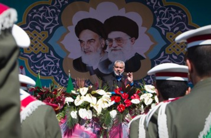 Hamas PM Ismail Haniyeh 390 (photo credit: REUTERS)