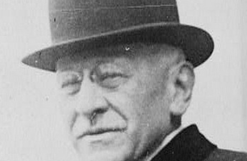 Sears President Julius Rosenwald (photo credit: Jointmedia News Service)