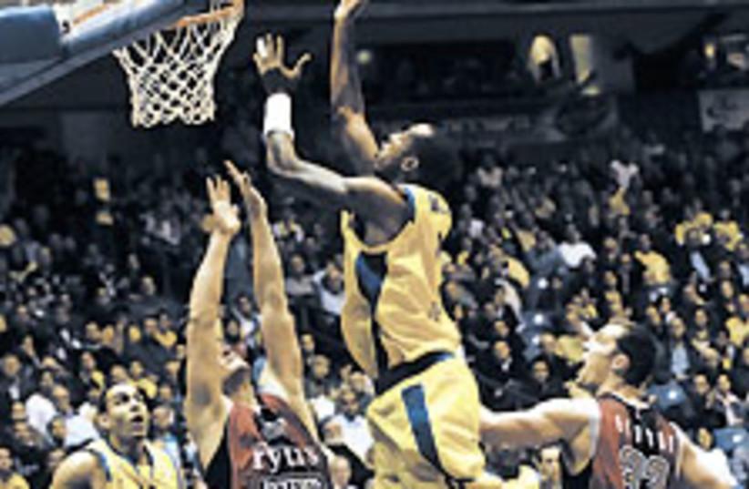 mac ta basket 224.88 (photo credit: Asaf Kliger)