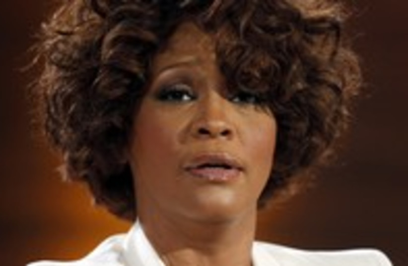 Whitney Houston 300 (photo credit: Johannes Eisele / Reuters)