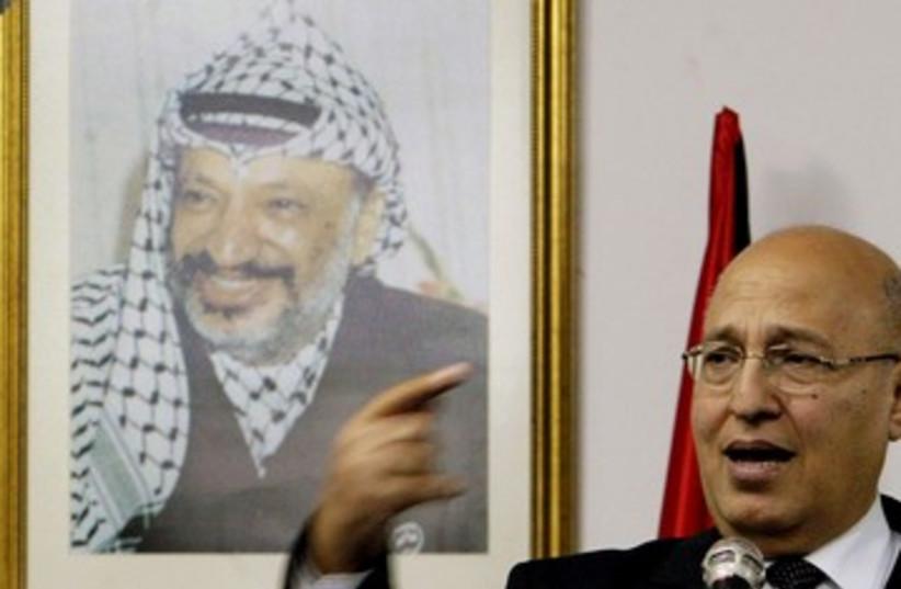 Senior Fatah member Nabil Shaath_390 (photo credit: Reuters)