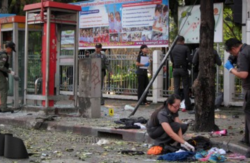 Thailand blast 390 (photo credit: REUTERS)