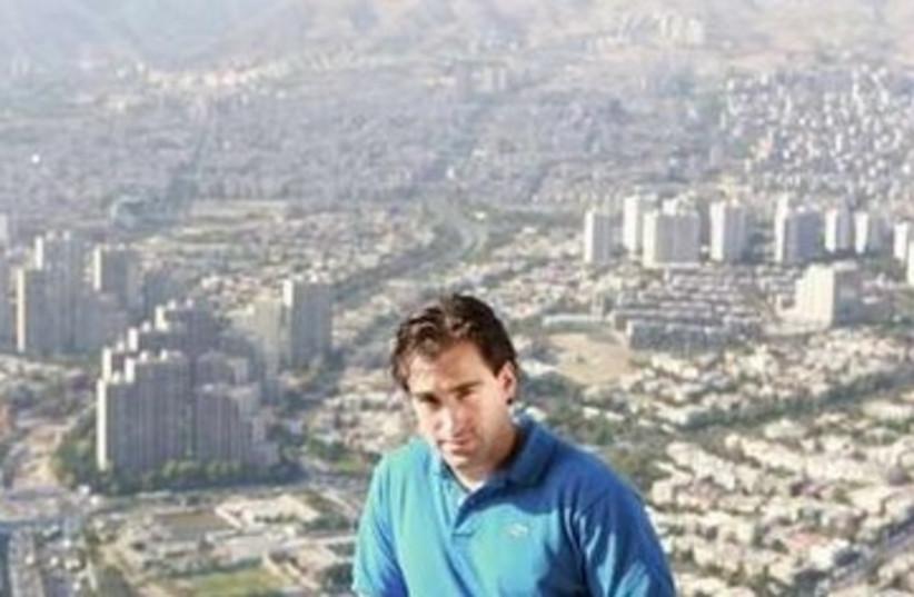 Sean Stone in Iran 390 (photo credit: REUTERS)