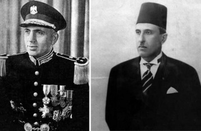 ADIB SHISHAKLI and SHUKRI AL-QUWATLI 390 (photo credit: Courtesy)