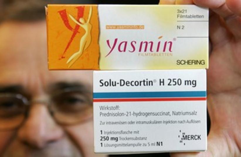 Yasmin birth control pills 390 (photo credit: REUTERS)