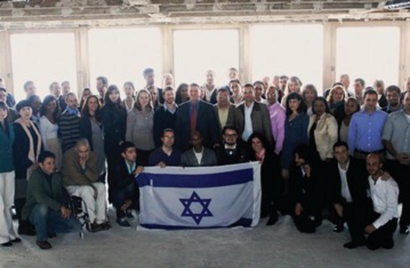 Envoys to to fight Israel Apartheid Week 390 (photo credit: Courtesy/Yuli Edelstein office)