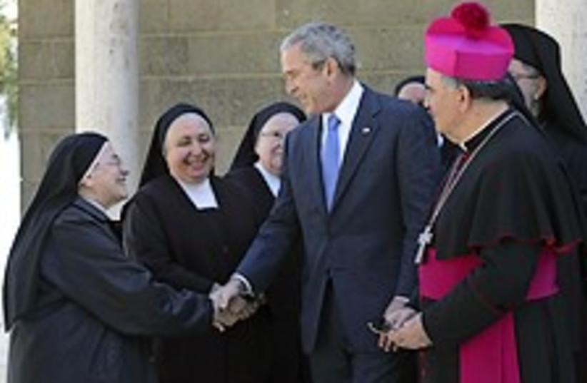 Bush galilee 224.88 (photo credit: AP)