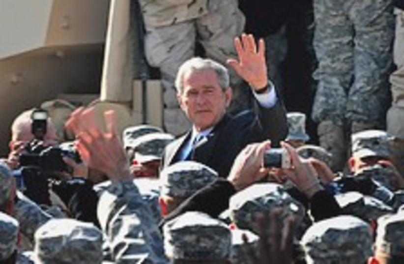 Bush is our hero! 224.88 (photo credit: AP)