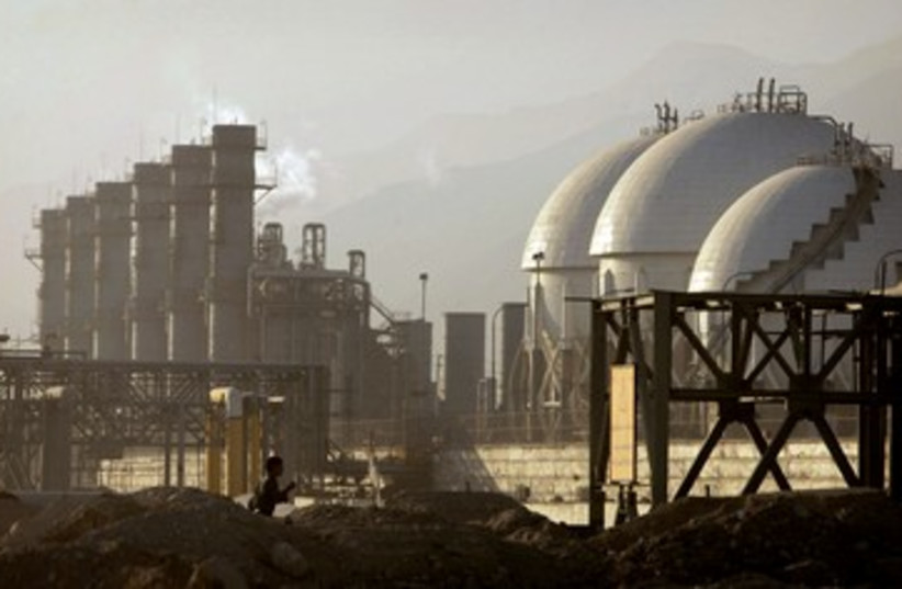 petrochemicals plant in Assaluyeh, Iran_390 (photo credit: Reuters)