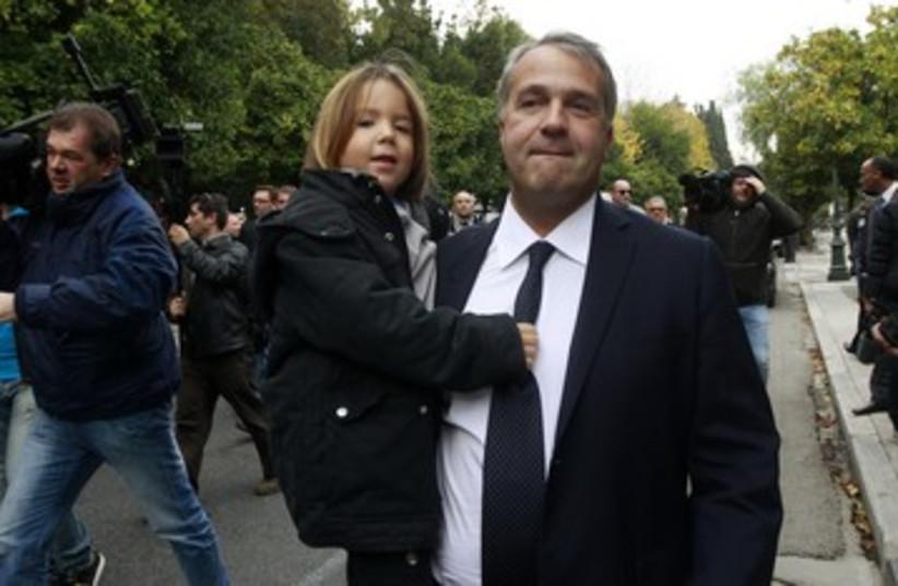 Far right Greek MP Makis Voridis_390 (photo credit: John Kolesidis/Reuters)