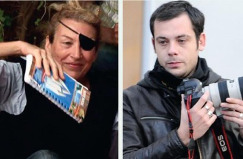 Marite Colvina and Remi Ochlik 390 (photo credit: REUTERS)