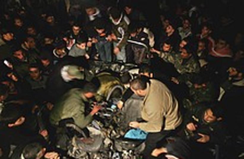 Gaza air strike 224.88 (photo credit: AP [file])