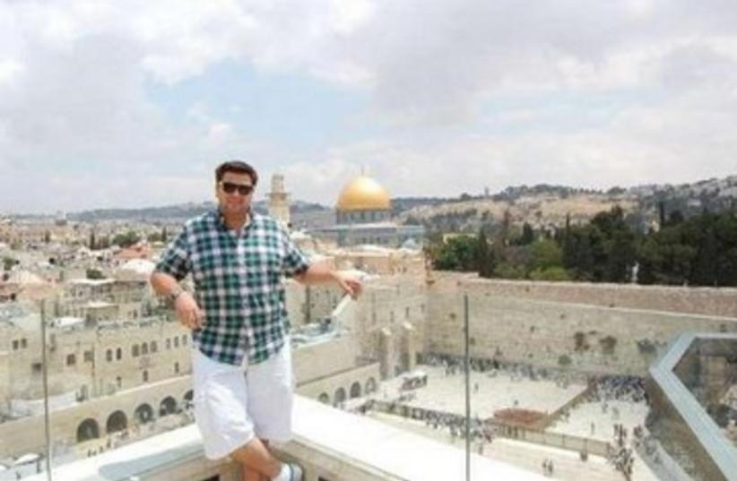 Hashem Hamdy 390 (photo credit: Israel Campus Beat)