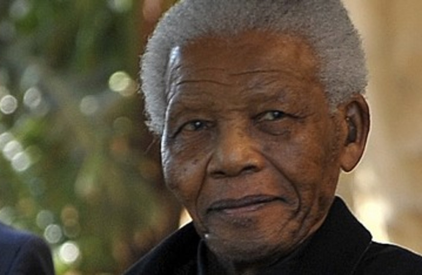 Former South African President Nelson Mandela 390 (photo credit: Reuters)