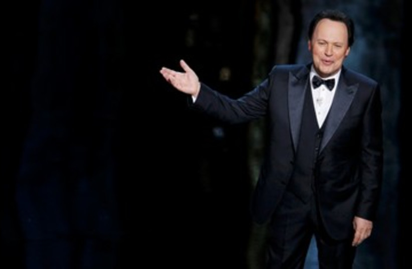 Billy Crystal on stage at the 84th Academy Awards 390 (photo credit: REUTERS)