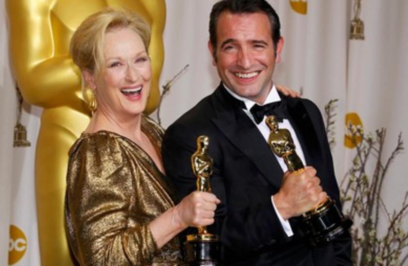 Meryl Streep and Jean Dujardin