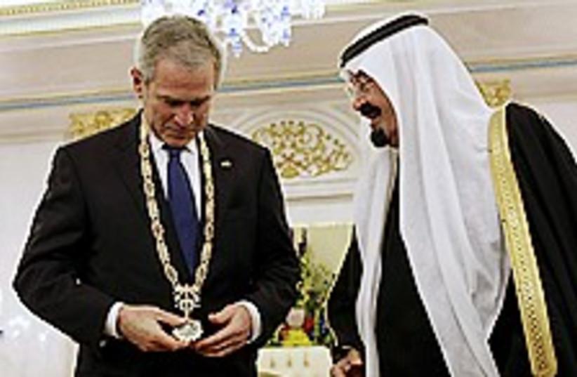bush saudi 224.88 (photo credit: AP)