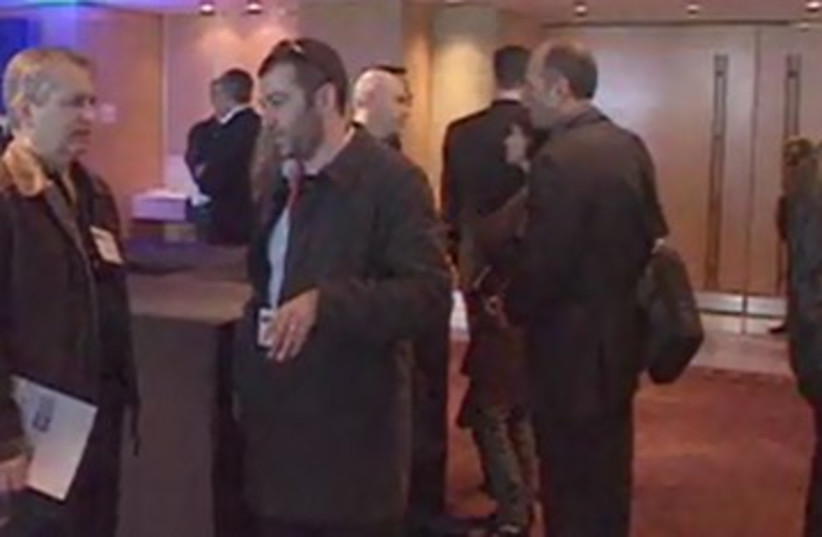 Deal makers conference 390 (photo credit: Screenshot: Media Line)