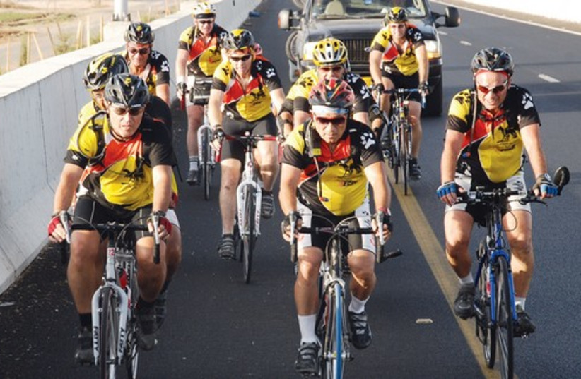 Group of cyclists 521 (photo credit: Courtesy)