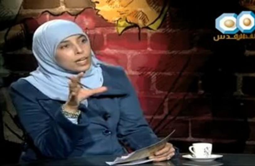 Ahlam Tamimi female terrorist hamas sbarro 390 (photo credit: YouTube Screenshot)