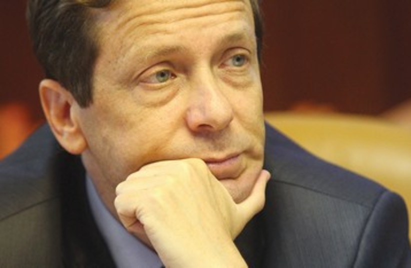fmr minister of Welfare and Social Affairs Isaac Herzog 390 (photo credit: Marc Israel Sellem)