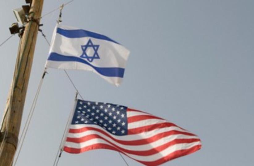 US and Israeli flags 390 (photo credit: Thinkstock/Imagebank)