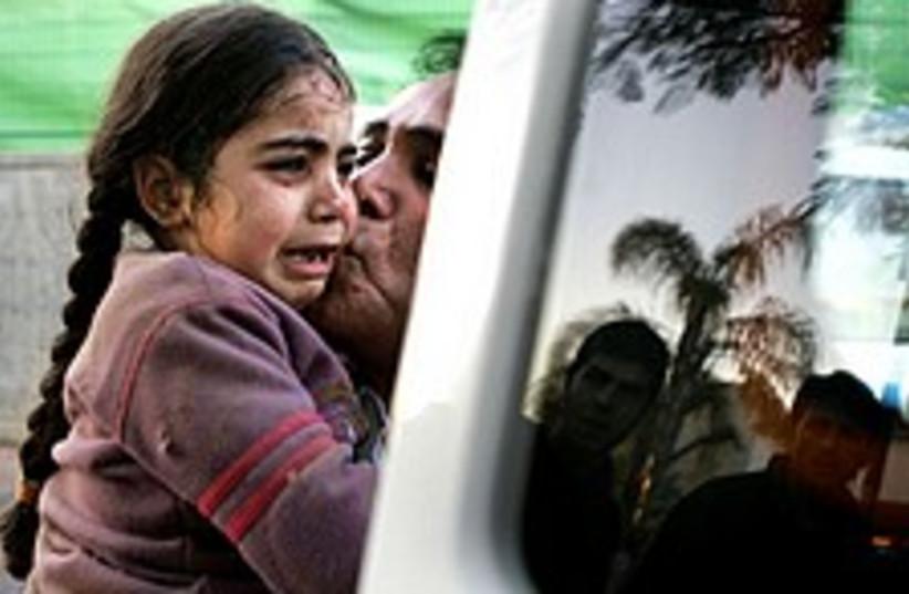 Sderot girl 224 88 (photo credit: AP)