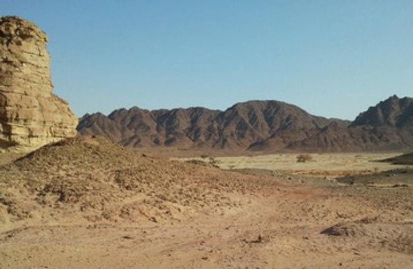 Timna Valley's Sasgon Valley 390 (photo credit: Society for the Protection of Nature in Israel)