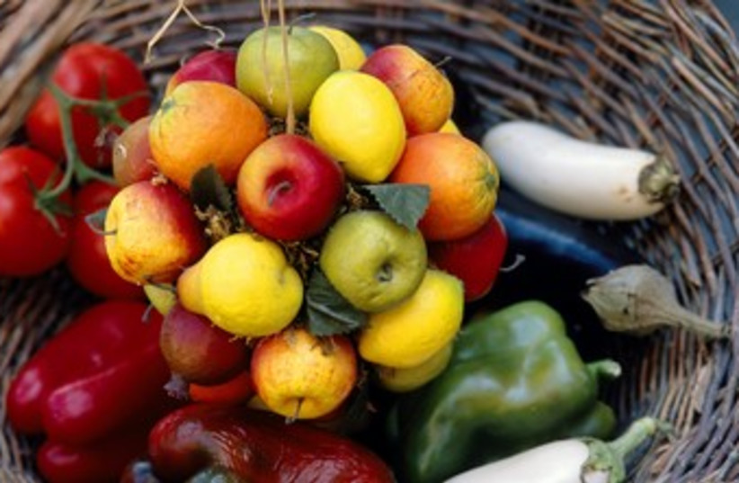Fruit and vegetables 370 (photo credit: Thinkstock/Imagebank)