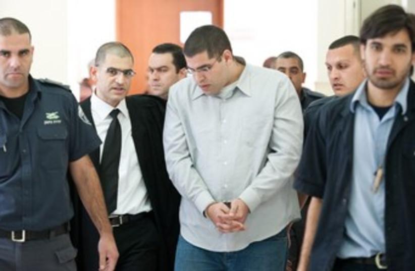 Daniel Maoz at J'lem District Court 150 (photo credit: Marc Israel Sellem)