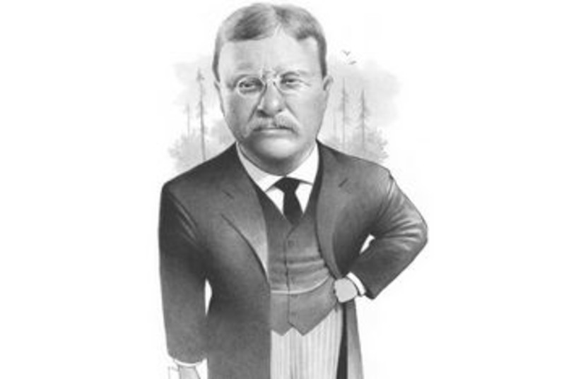Teddy Roosevelt 390 CARTOON MCT (photo credit: MCT/Griswold/San Jose Mercury News 2007)