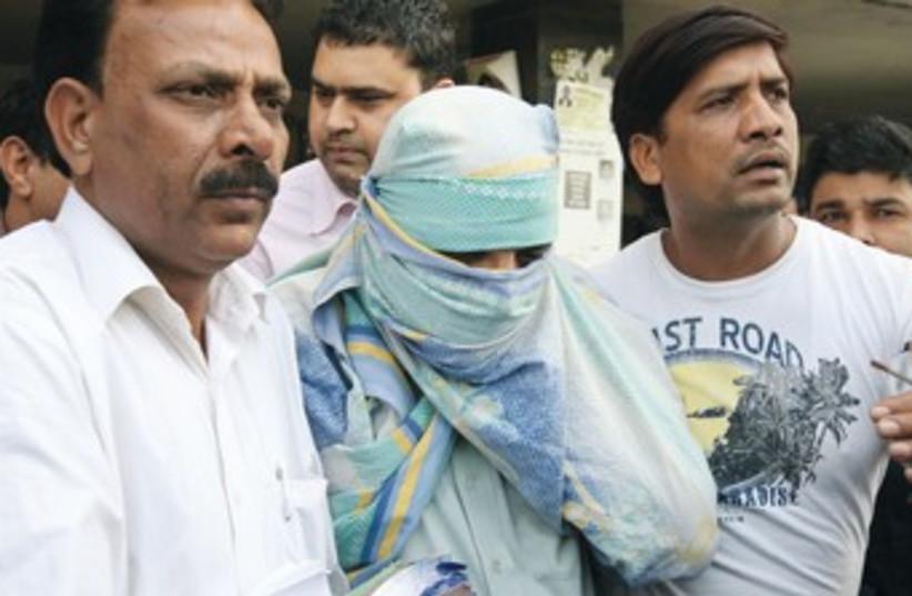 New Delhi terror arrest 370 (photo credit: REUTERS)