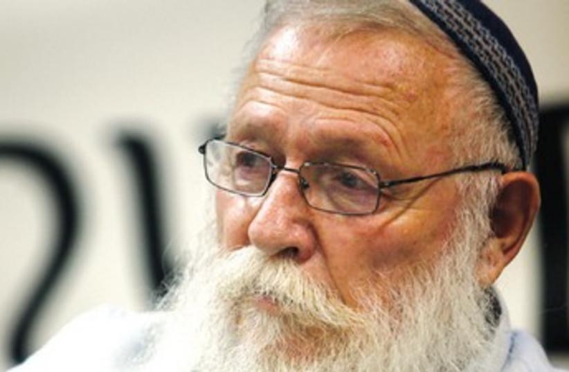 Rabbi Haim Druckman 370 (photo credit: Marc Israel Sellem)