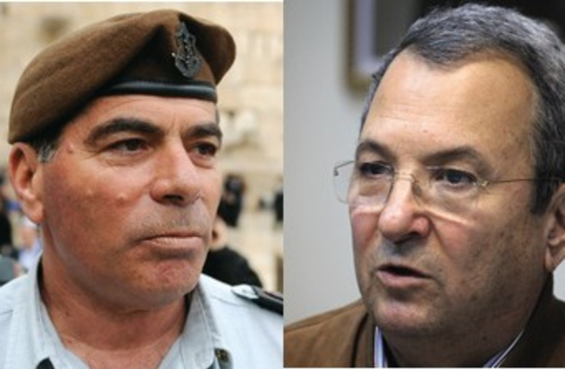 former IDF chief of staff Asheknazi, Barak (photo credit: Marc Israel Sellem / IDF Spokesperson )