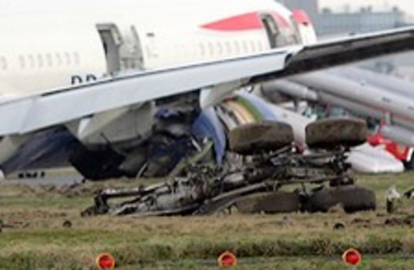 BA crash landing 224.88 (photo credit: AP)