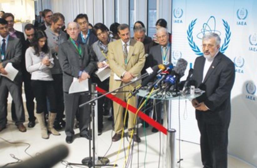 IRANIAN IAEA AMBASSADOR Ali Asghar Soltanieh 390 (photo credit: Herwig Prammer/Reuters)