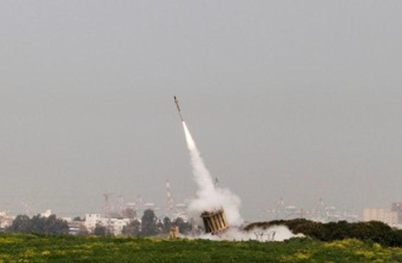Iron Dome 370 (photo credit: REUTERS)