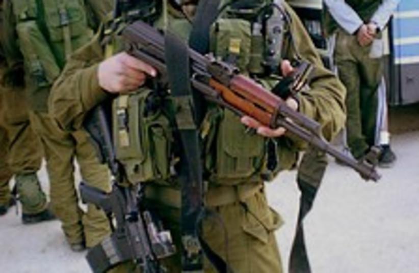 duvdevan with ak 47 (photo credit: IDF)