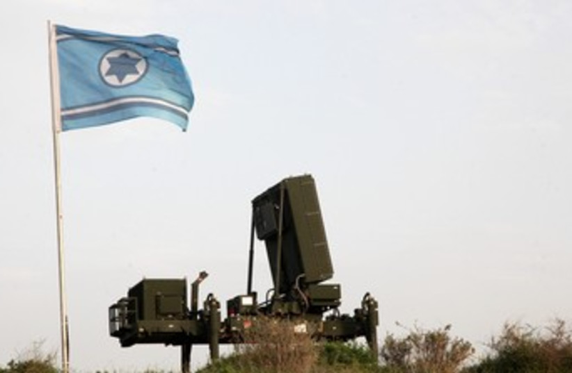 Iron Dome battery 370 (photo credit: Marc Israel Sellem)