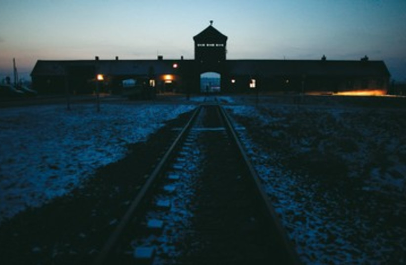 Train to Auschwitz 390 (photo credit: REUTERS)