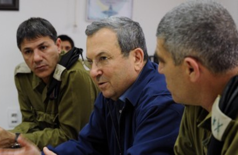 Defense Minister Ehud Barak 150 (photo credit: Ariel Harmoni / Defense Ministry)