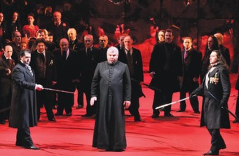 Donizetti: Lucia di Lammermoor_370 (photo credit: ury eppstein )