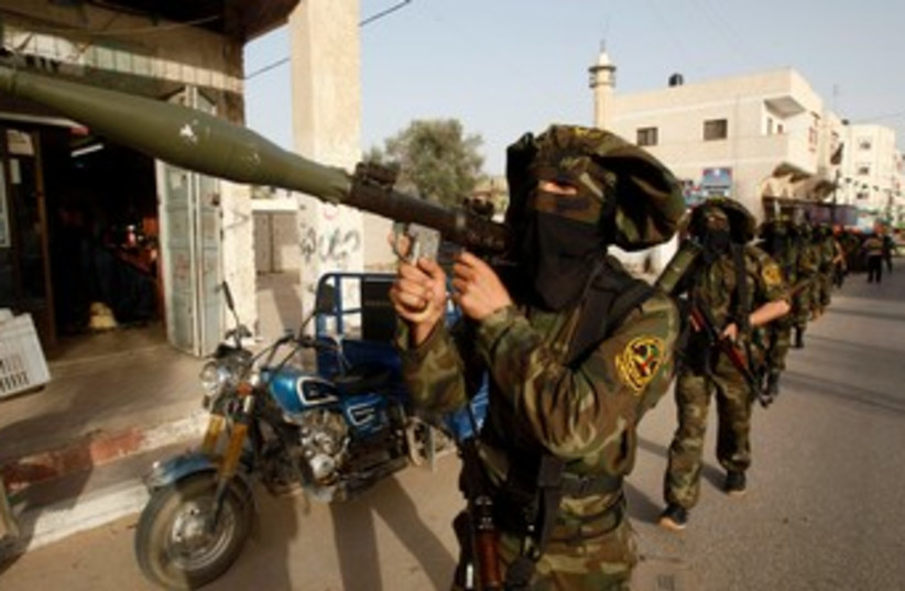 Islamic Jihad operatives 370 (photo credit: REUTERS)
