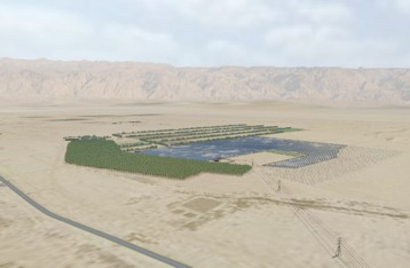 Solar fields 390 (photo credit: Arava Power Company)