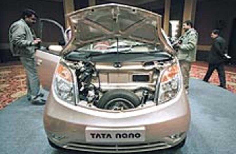 Tata Nano 88 224 (photo credit: AP)