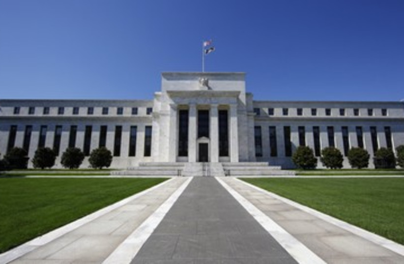 The Federal Reserve building in Washington 390 (R) (photo credit: Jim Bourg / Reuters)
