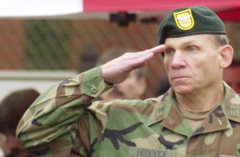 Lt.-Gen. (res.) David Fridovich 390 (photo credit: REUTERS/David Lewis)