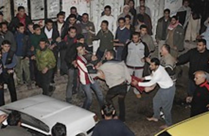 Gaza strike 224.88 (photo credit: AP)