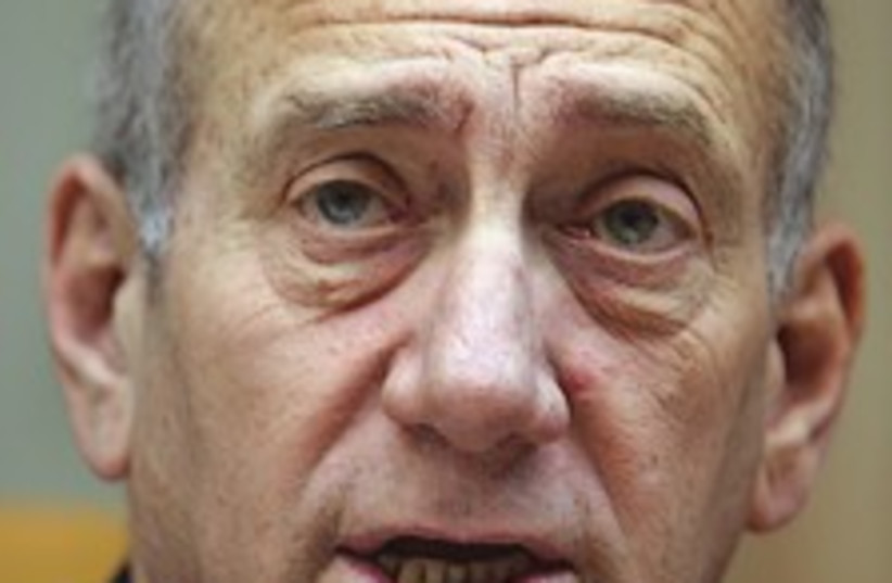 olmert face 224.88 (photo credit: AP)
